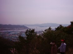 Masan from Pallyong mountain