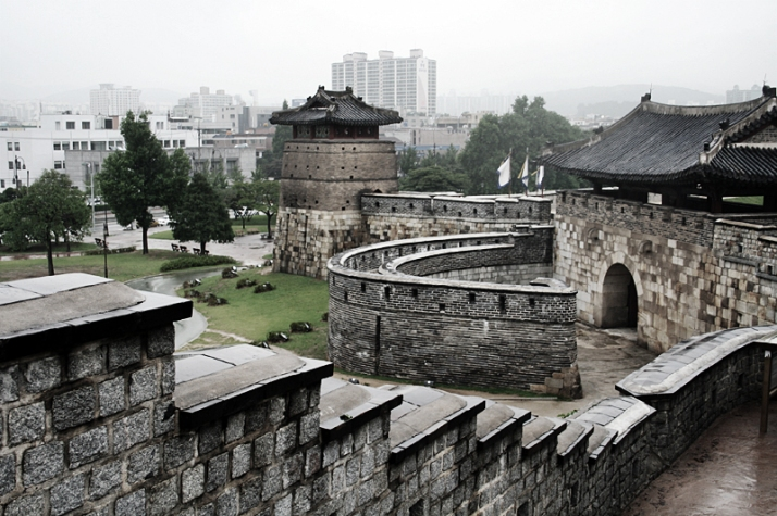 Hwa fortress near Seoul UNESCO World Heritage Site