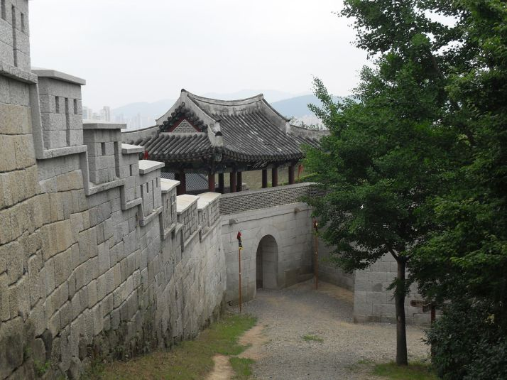 North gate of the Dongnae fortress in Busan
