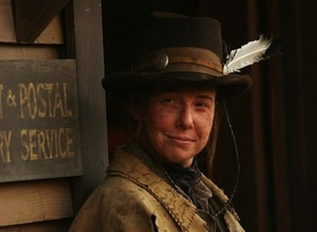 Calamity Jane in Deadwood played by Robin Weigert