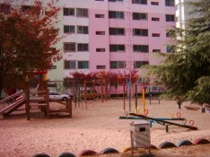 apartment playground
