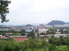 Kimhae City from museum