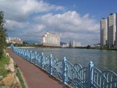 E Pyon Han Sesang Apartments in the centre